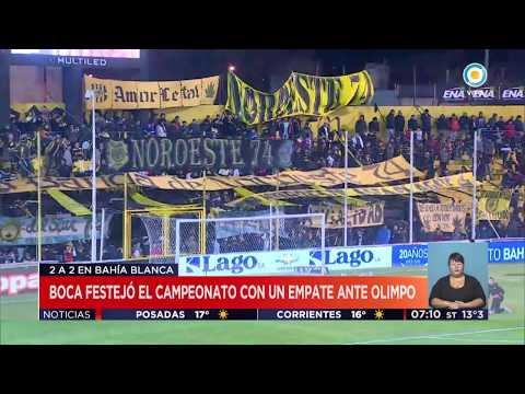 Boca festejó en Bahía Blanca