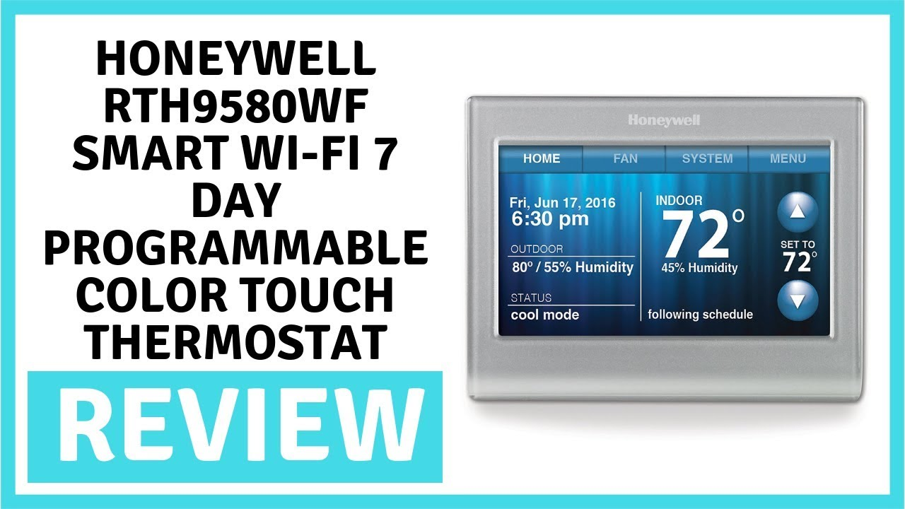 Review  Honeywell Rth9580wf Smart Wi Fi 7 Day Programmable