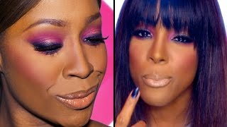 Kelly Rowland - Kisses Down Low (Official Video) Makeup Tutorial ♡