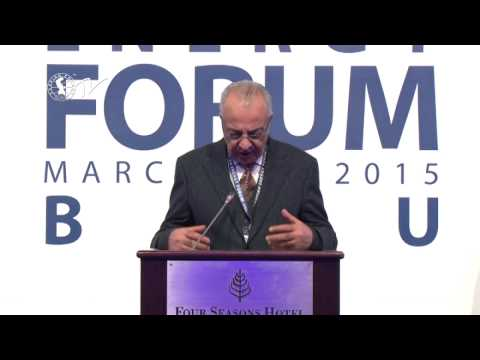 Abdolbari Goozal - Caspian Energy Forum - Baku 2015-az