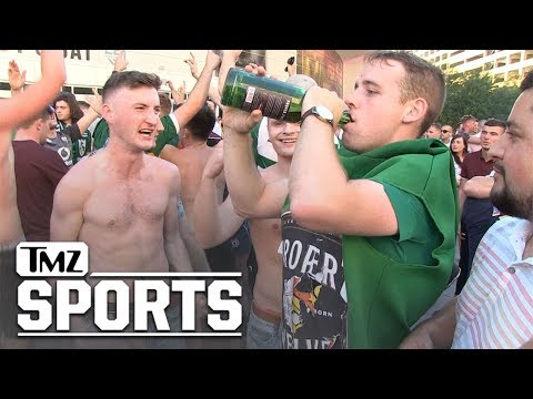 McGregor Fans Cause Chaos in Las Vegas After Weigh-In