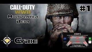 XIM 4 PS4 Call of Duty: WW2 Beta Gameplay - Pointe du Hoc TDM - 1st Beta Game