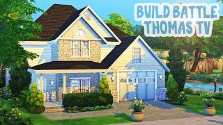Build Battle with Thomas TV    The Sims 4 Family Home: Speed Build