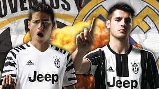 Juventus To Battle For €85 Million Real Madrid Duo! | Transfer Review