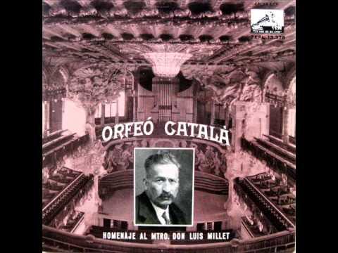 Orfeó Català - Les Flors De Maig - EP 1959