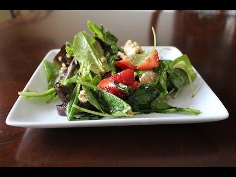 Strawberry Salad Wrap