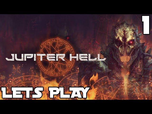Jupiter Hell gameplay part #1 - Intro + Tutorial | RPG Roguelike