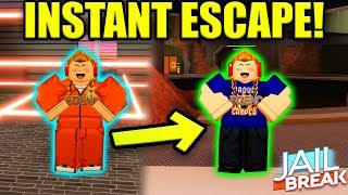 HOW TO INSTANTLY ESCAPE THE MILITARY BASE! (GLITCH) | Roblox Jailbreak Update