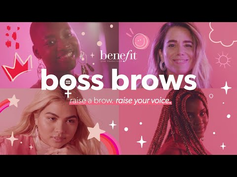 BOSS BROWS   there's more to a brow...