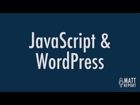 JavaScript and WordPress
