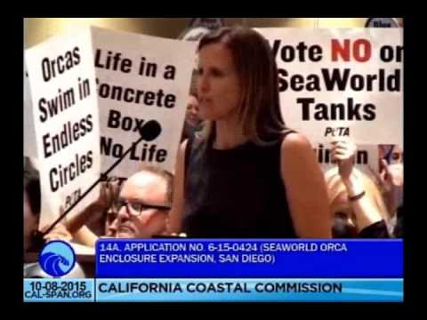 Humane Society of the United States @ The California Coastal Commission Hearing October 8 2015