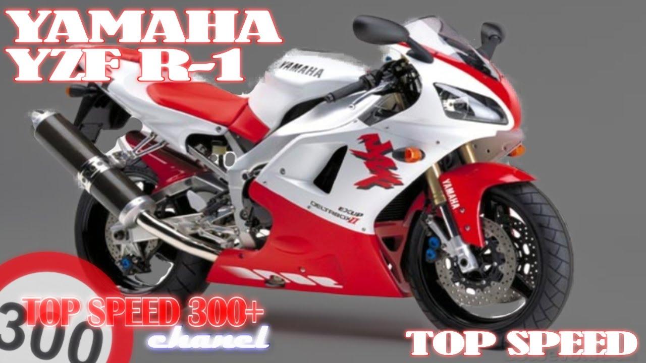 Yamaha r1 top speed 300 old school youtube for Yamaha r1 top speed
