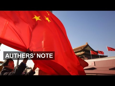 China's charm offensive | Authers' Note
