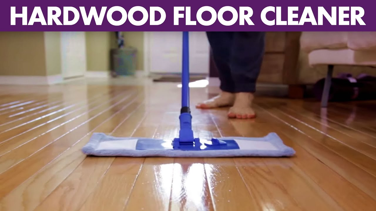 Hardwood Floor Cleaner - Day 14 - 14 Days of DIY Cleaners (Clean My Space)