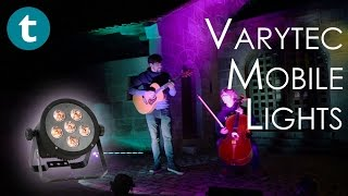 Varytec mobile lights and where (not) to use them