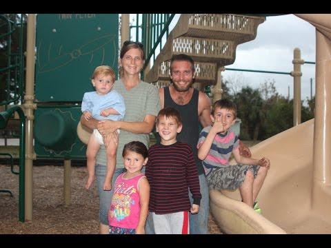Homeless Family in Titusville