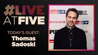 Broadway.com #LiveatFive with Thomas Sadoski of WHITE NOISE thumbnail