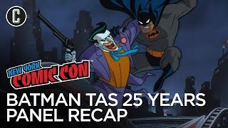 Batman: The Animated Series 25th Anniversary Panel Recap - NYCC 2017