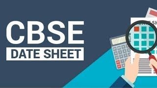CBSE Board exam schedule of Class 10-12 2017-18 HD