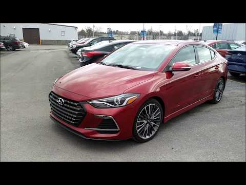 2018 Hyundai Elantra Sport 6MT (Review & POV Test Drive)