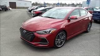 2018 Hyundai Elantra Sport 6MT (Review & POV Test Drive)