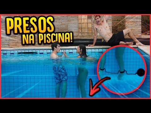 PRENDI O CASAL DE CRUSHS NA PISCINA!! - TROLLANDO CRUSHS [ REZENDE EVIL ]