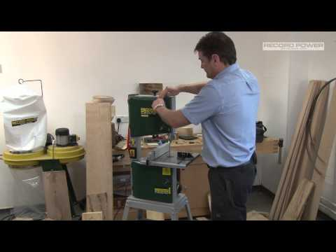 """An Overview and Demonstration of Record Power's BS250 Premium 10"""" Bandsaw"""