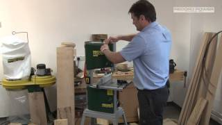 "An Overview And Demonstration Of Record Power's Bs250 Premium 10"" Bandsaw"