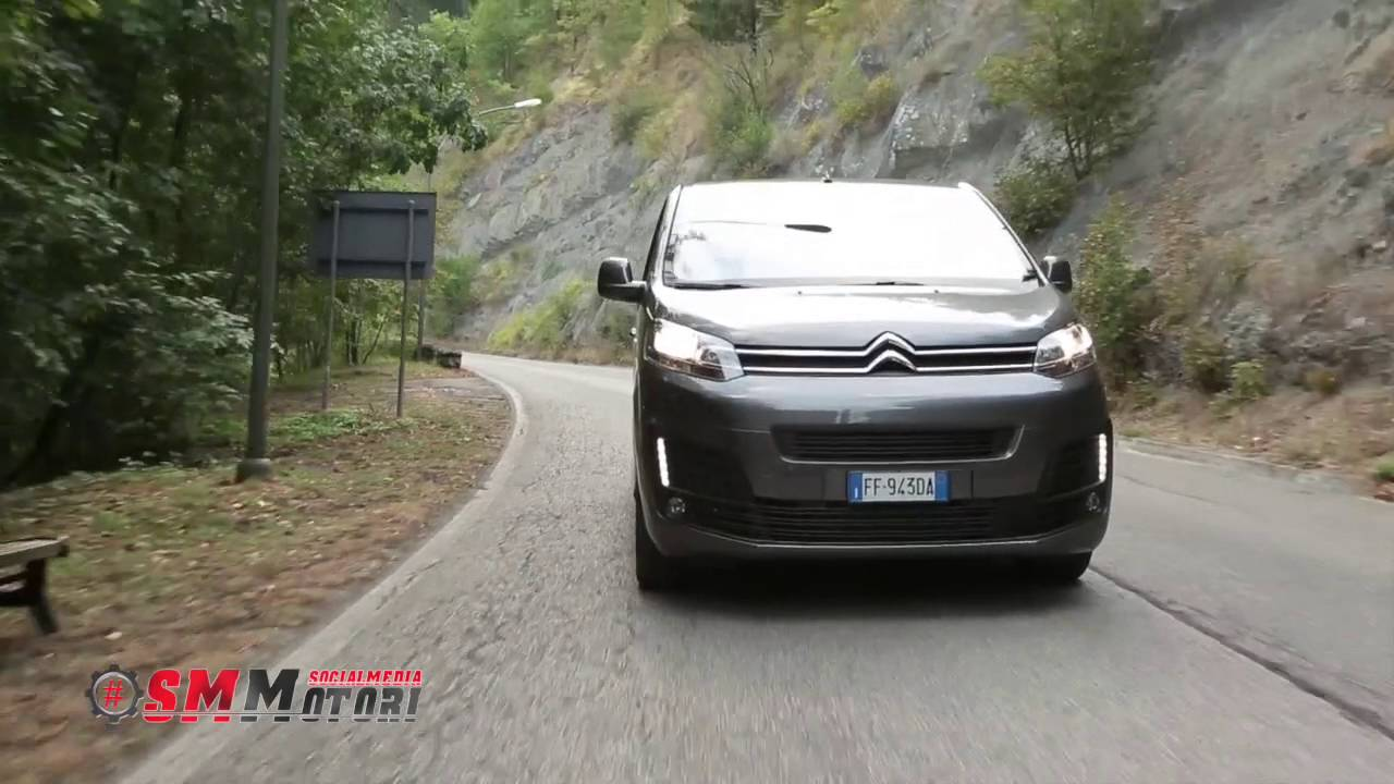 citroen space tourer test drive 2016 youtube. Black Bedroom Furniture Sets. Home Design Ideas