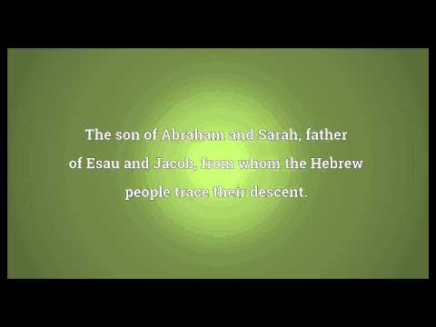 Isaac Meaning