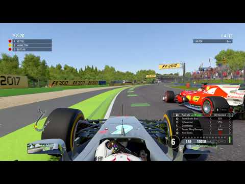 F1™ 2017 Overtake at Monza Ultimate AI Difficulty 1080p