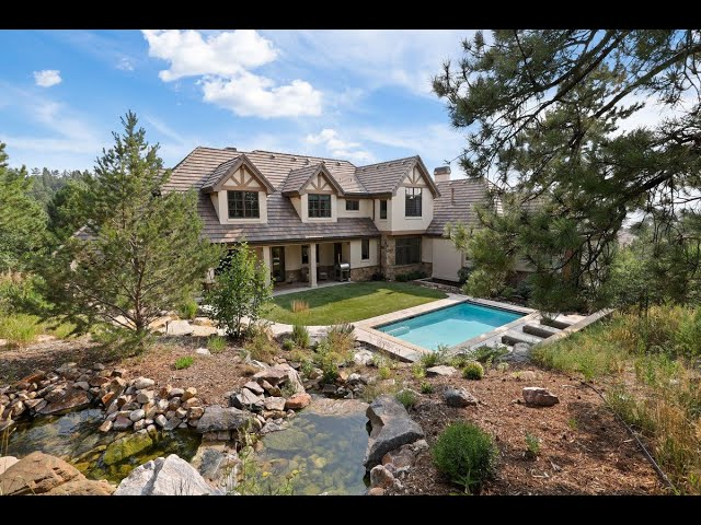 Elegant Modern European-Style Home in Castle Rock, Colorado   Sotheby's International Realty