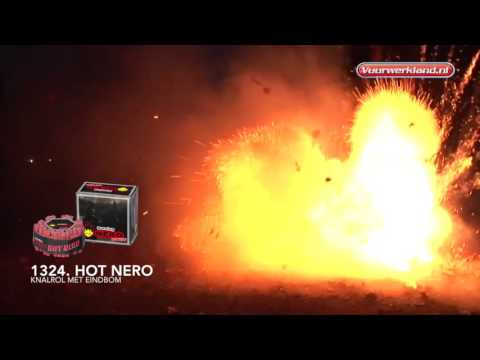 1324 Hot Nero - Burning Nero - Vuurwerkland