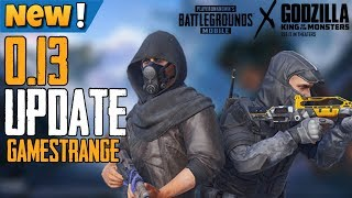 NEW UPDATE 0.13 IS HERE | THE DEATH MATCH | GODZILLA EVENT - PUBG MOBILE