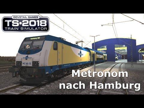 Train Simulator | Metronom | ME 146 | Hamburg - Hannover | Addon | Railworks |