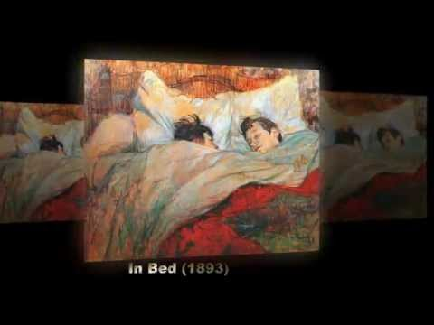 Famous Paintings of Henri de Toulouse-Lautrec A French Painter - La blanchisseuse