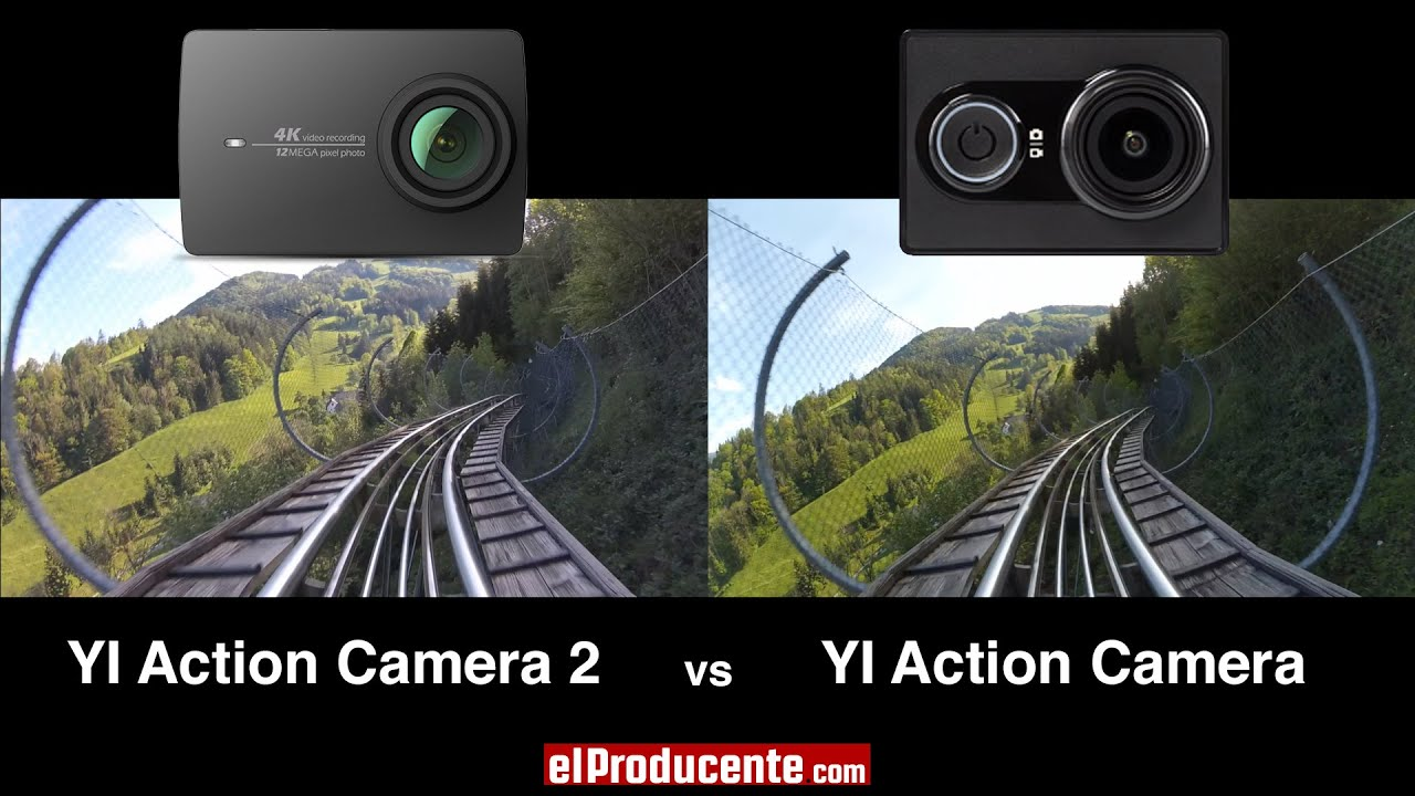 wifi Yi Action Camera negro 1080p 60fps video 16mp App-control bluetooth