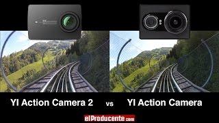 YI 4K Action Camera 2 vs YI 1 (1080p 60fps / Image Stabilizer)