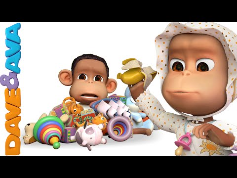 Ten in the Bed | Nursery Rhymes and Baby Songs | YouTube Nursery Rhymes from Dave and Ava