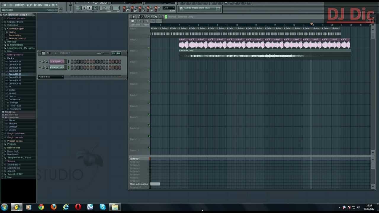 Как редоктировать музыку в фл студио