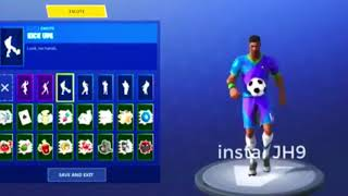 'NEW' LEAKED SKINS EMOTES ET BLOCKBUSTER SKIN REVEALED!! | Fortnite Bataille Royale