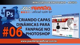 Criar Capa da FanPage no Photoshop - Video 06