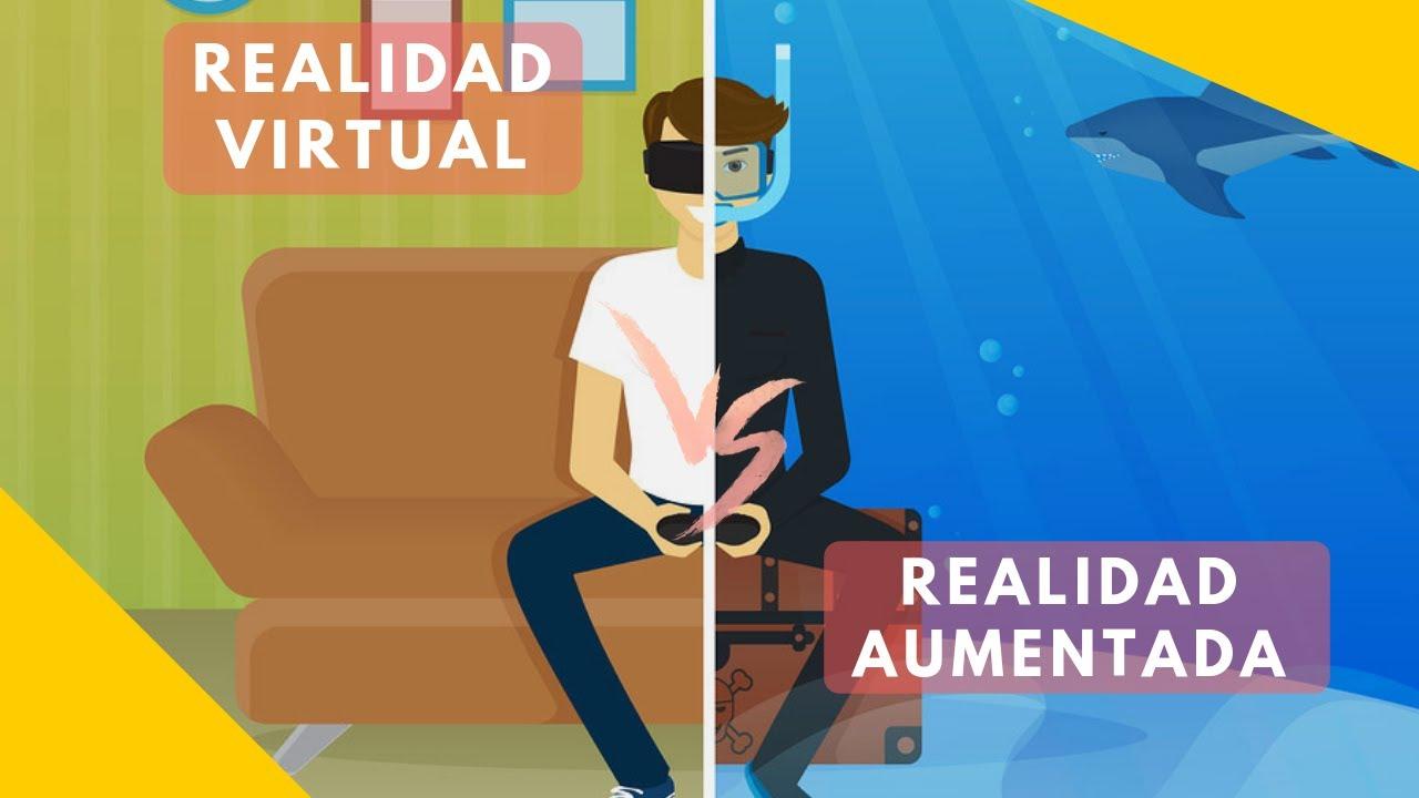 """Resultat d'imatges per a """"realidad virtual y realidad aumentada diferencias"""""""