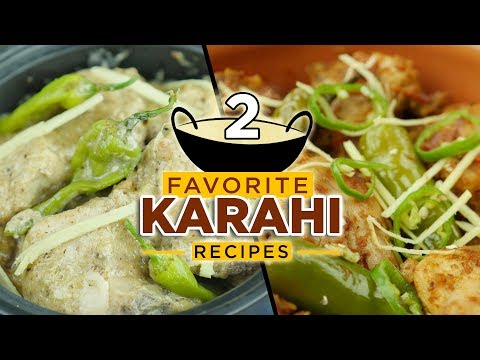 Top 2 Chicken  Karahi Recipes By Food Fusion