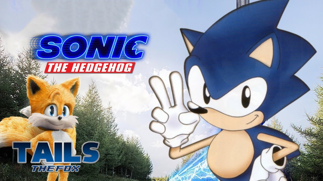 Sonic The Hedgehog Movie Uk Trailer But It Ova Tails The Fox Youtube