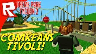 COMKEANS TIVOLI! - Roblox Theme Park Tycoon 2 Dansk Ep 1