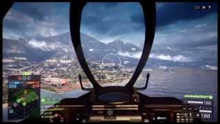 Battlefield 4 Ps3 Attack Jet Gameplay
