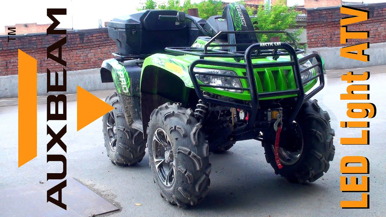 Auxbeam led light bar install and test drive atv arctic cat 700 auxbeam led light bar install and test drive atv arctic cat 700 aloadofball Images