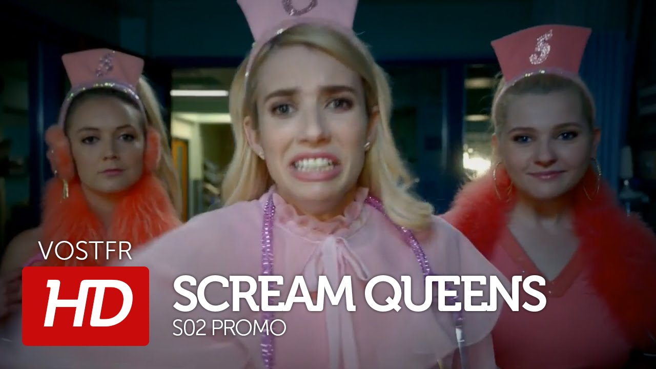 scream queens s02 promo vostfr hd youtube. Black Bedroom Furniture Sets. Home Design Ideas