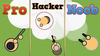 Surviv.io Pro Vs. Noob Vs. Hacker (No Clickbait Edition)